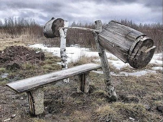 tree-bench-press